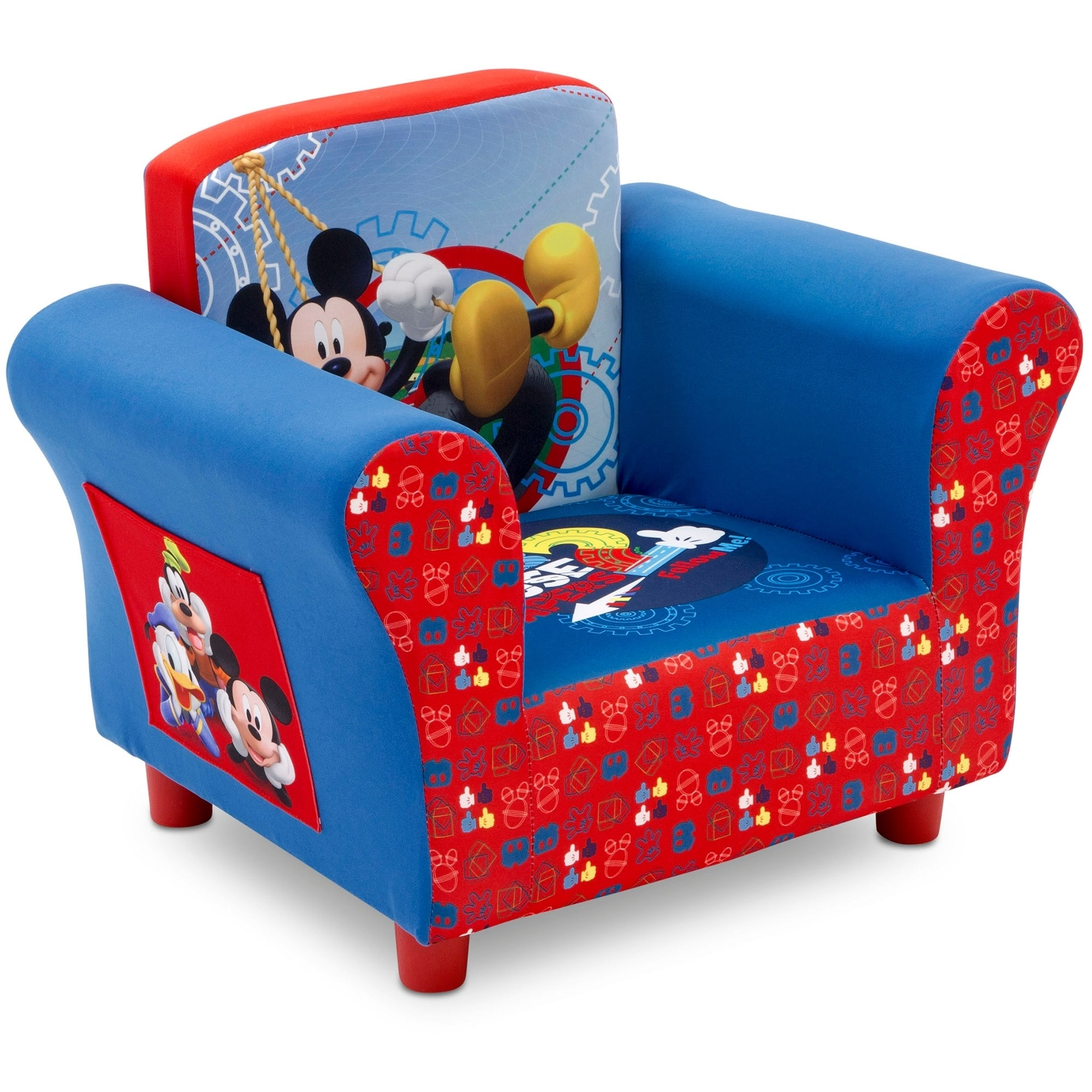 minnie mouse upholstered chair canada scoop back shop disney mickey ships to overstock ca 14154860