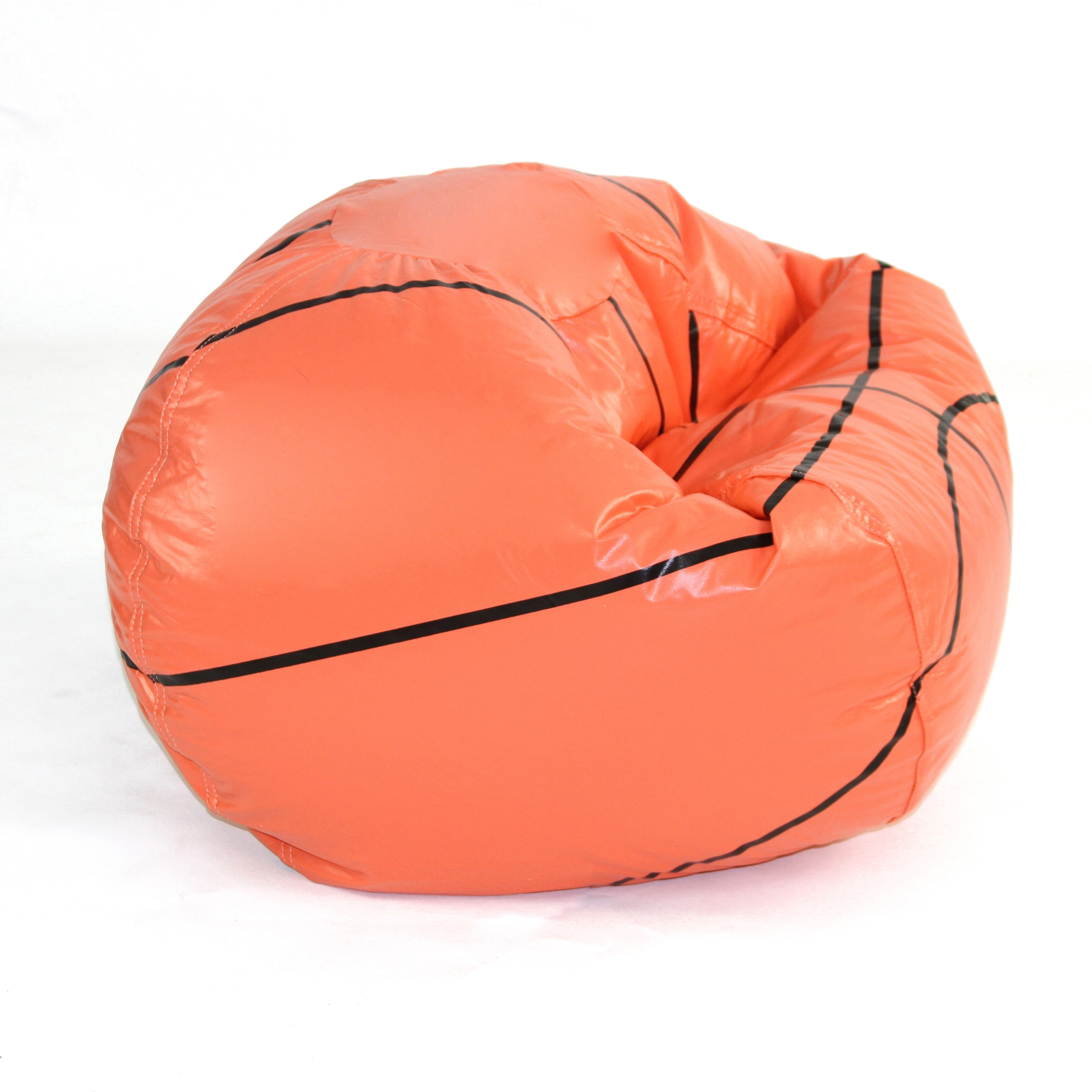 Basketball Bean Bag Chair Basketball Junior Sports Vinyl Pure Bead Bean Bag