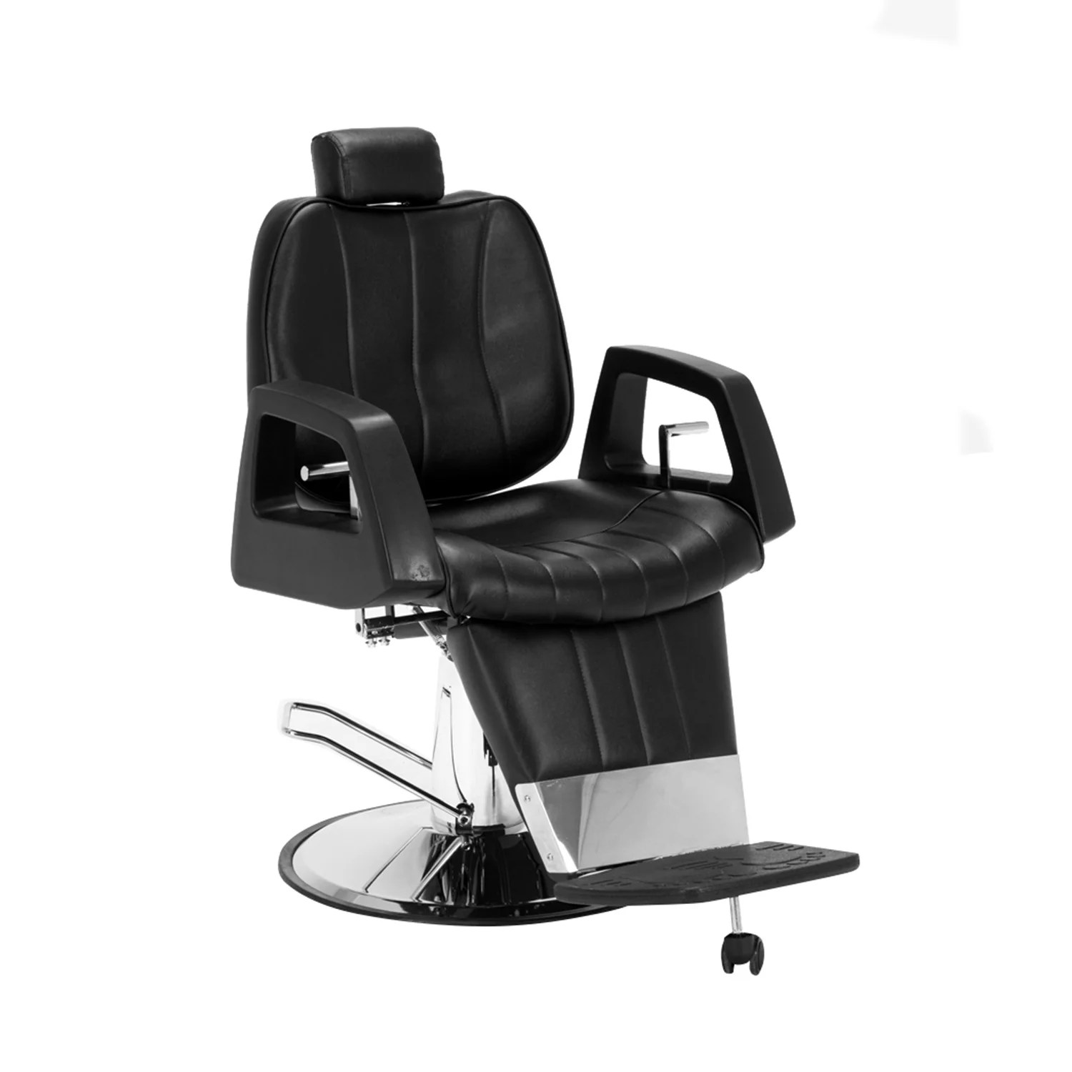 all purpose salon chairs brown dining room shop barberpub hydraulic recline chair free shipping today overstock com 14356039
