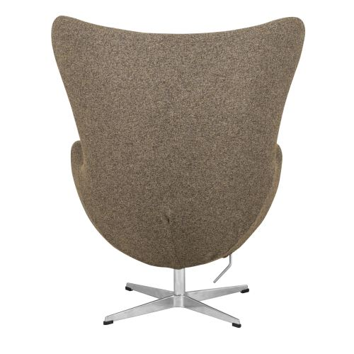 small resolution of shop leisuremod modena oatmeal wool modern accent lounge chair w ottoman free shipping today overstock 14426754