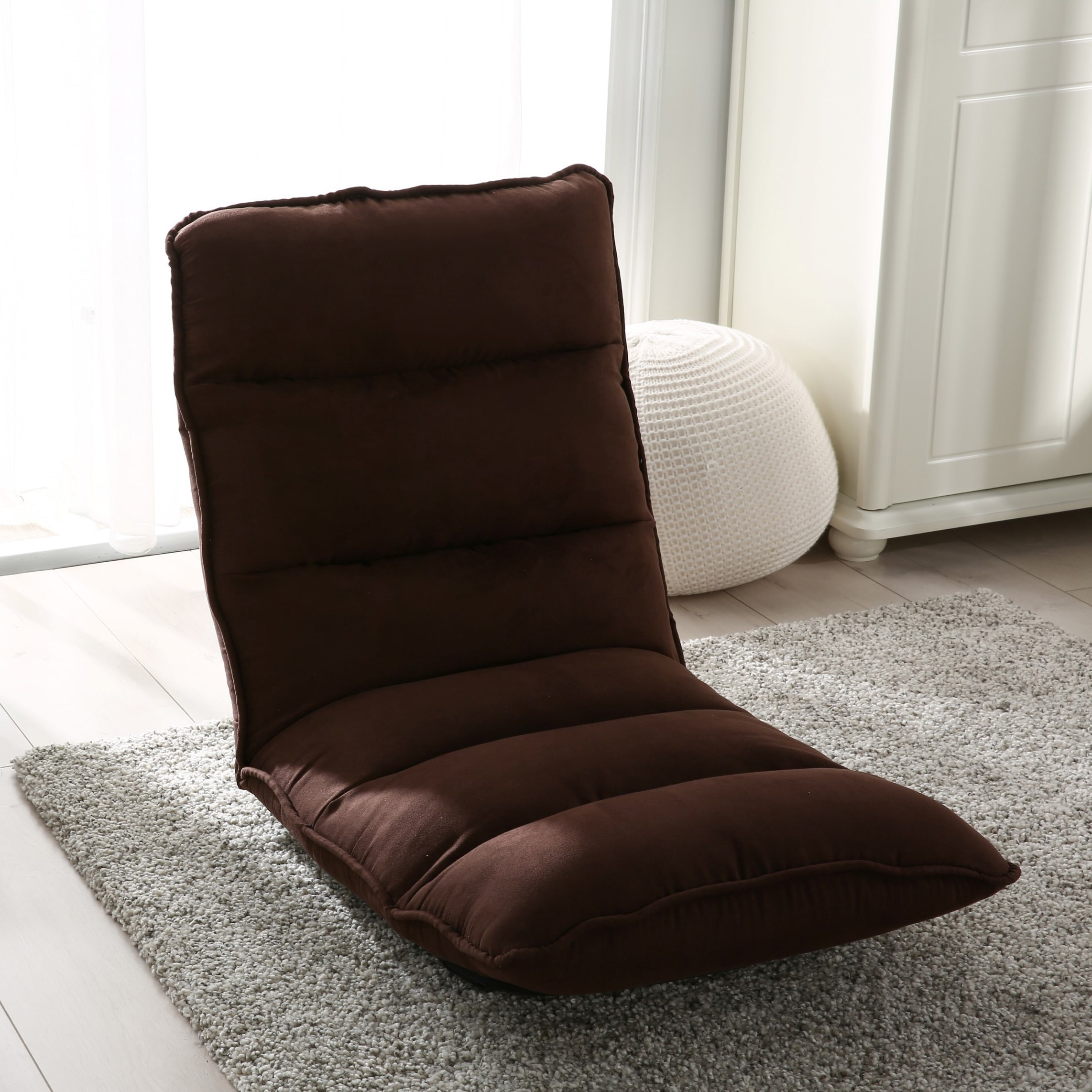 gaming lounge chair chairs for less shop modern tyson adjustable fabric chaise on
