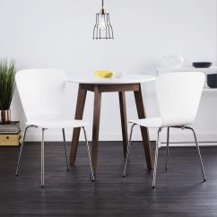 Bentwood Dining Chair Vintage Metal Chairs For Sale Shop Holly Martin Cadby Set Of 2 White