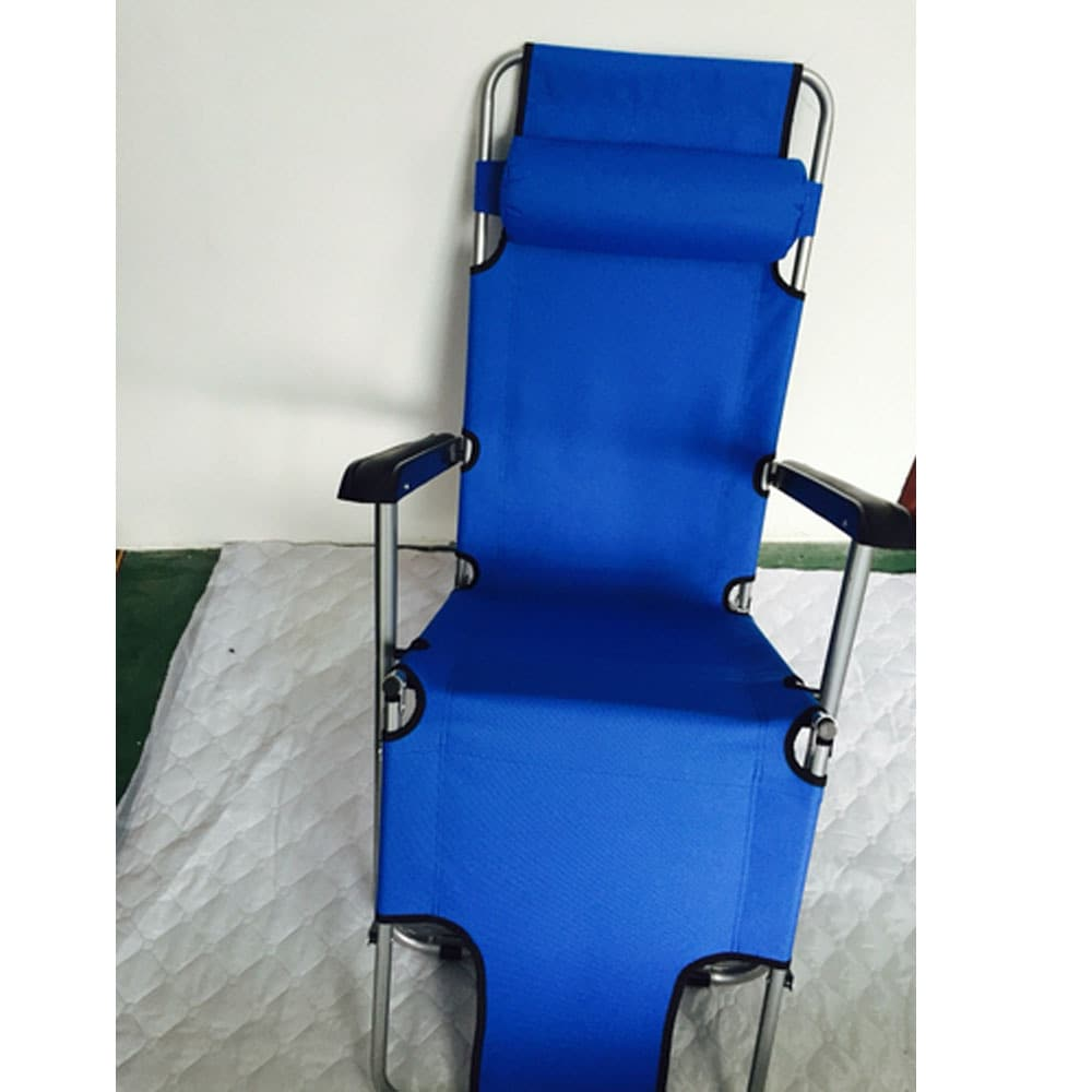 portable reclining chair wedding covers hire yeovil shop blue steel dual purposes extendable folding free shipping on orders over 45 overstock com 14538506