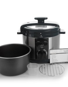 Wolfgang puck qt automatic rapid pressure cooker with recipes refurbished also shop rh overstock