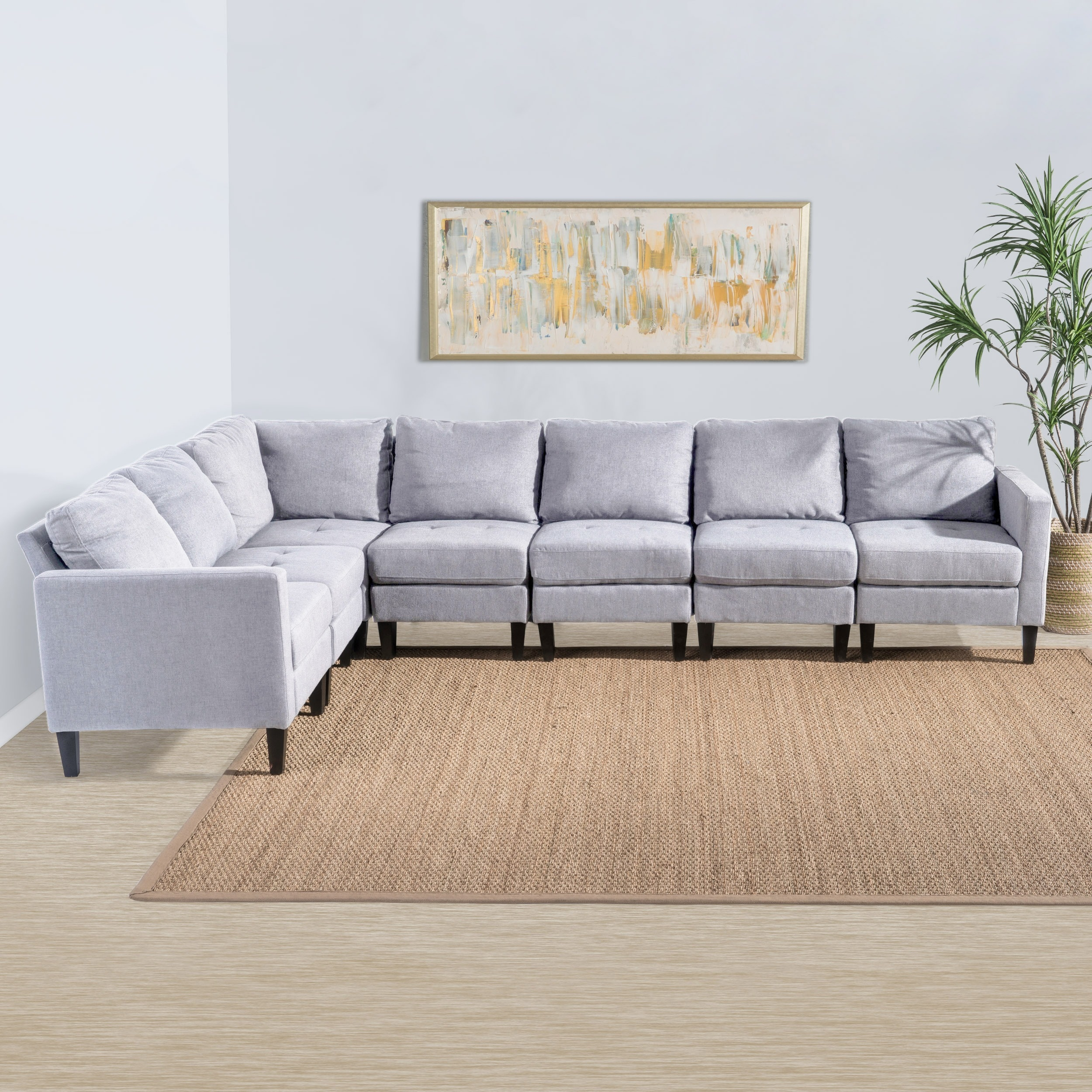 Sectional Furniture Pictures Regal 3 Piece Modular Sectional Hom