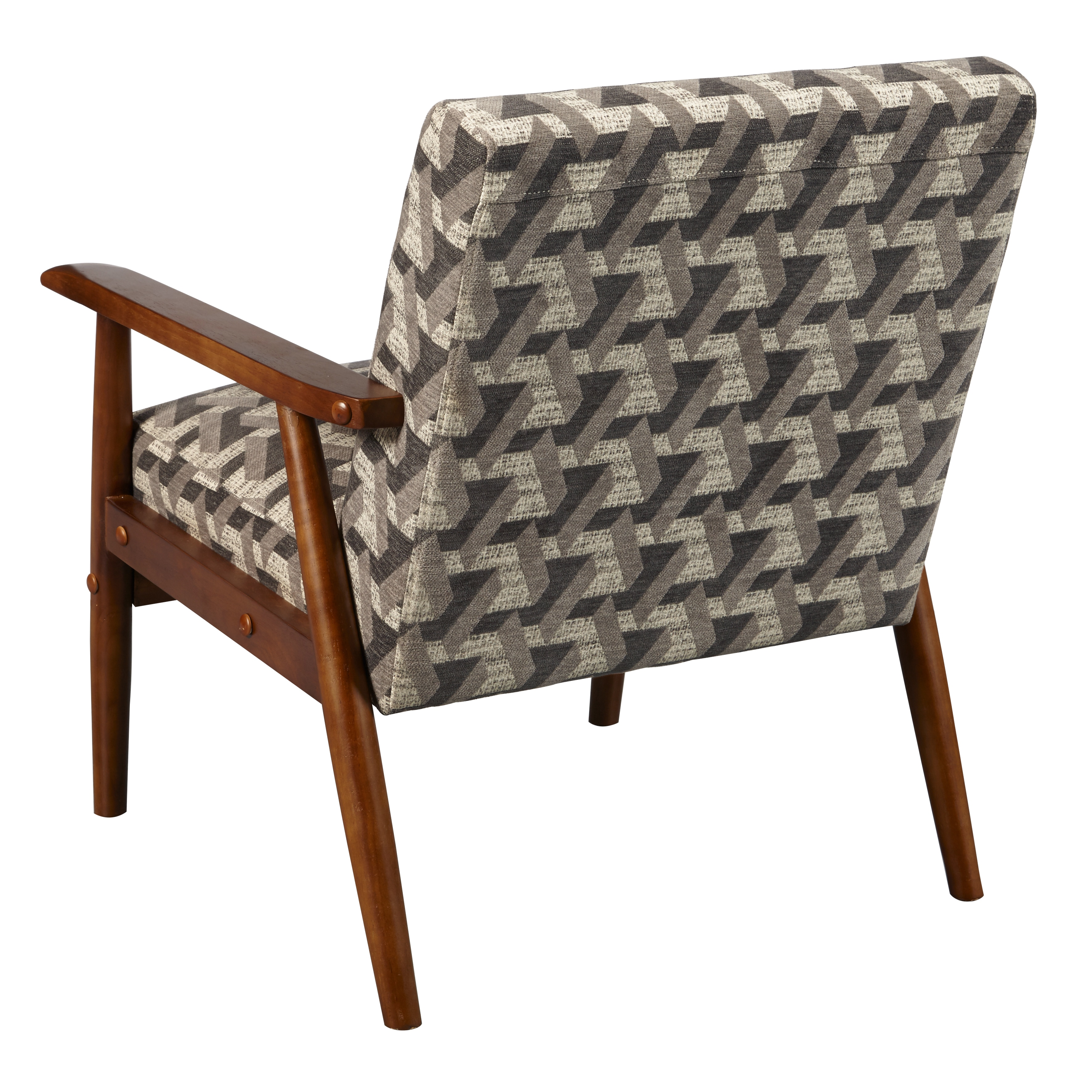 wood frame accent chairs small chair cushions shop in prism flannel free shipping today overstock com 15807429
