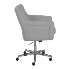 Serta Office Chair 10 Year Warranty Chairs With Adjustable Arms Shop Ashland Ivory Home Free Shipping Today Overstock Com 15924375