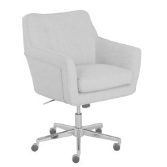 Serta Office Chair 10 Year Warranty Design Bd Shop Ashland Ivory Home Free Shipping Today Overstock Com 15924375