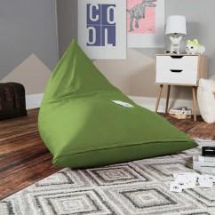 Green Bean Bag Chair Fold Up Lounge Outdoor Shop Jaxx Pivot Kids Gaming Free Shipping Today Overstock Com 16077739