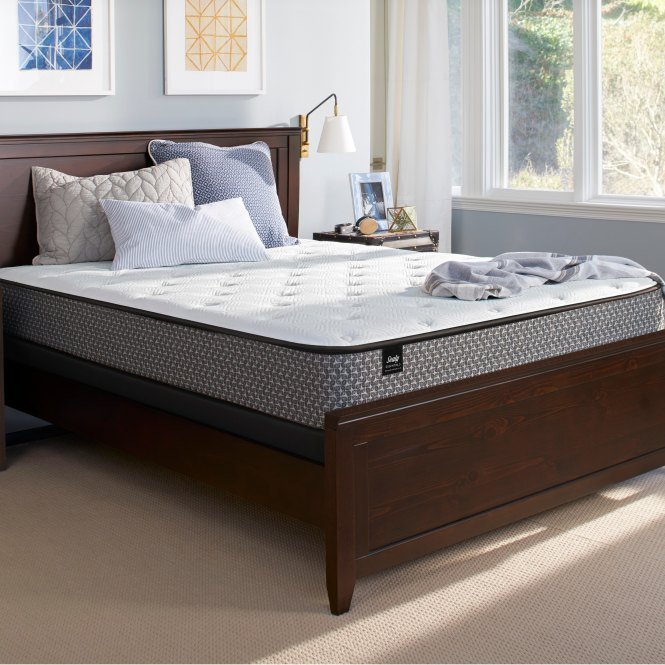 Sealy Response Essentials 10 5 Inch Queen Size Plush Mattress Free Shipping Today 22876298