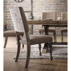 Chic Chair Covers Birmingham Ligne Roset Shop 7 Piece Driftwood Finish Table With Nail Head Chairs Dining Set Free Shipping Today Overstock Com 16685642