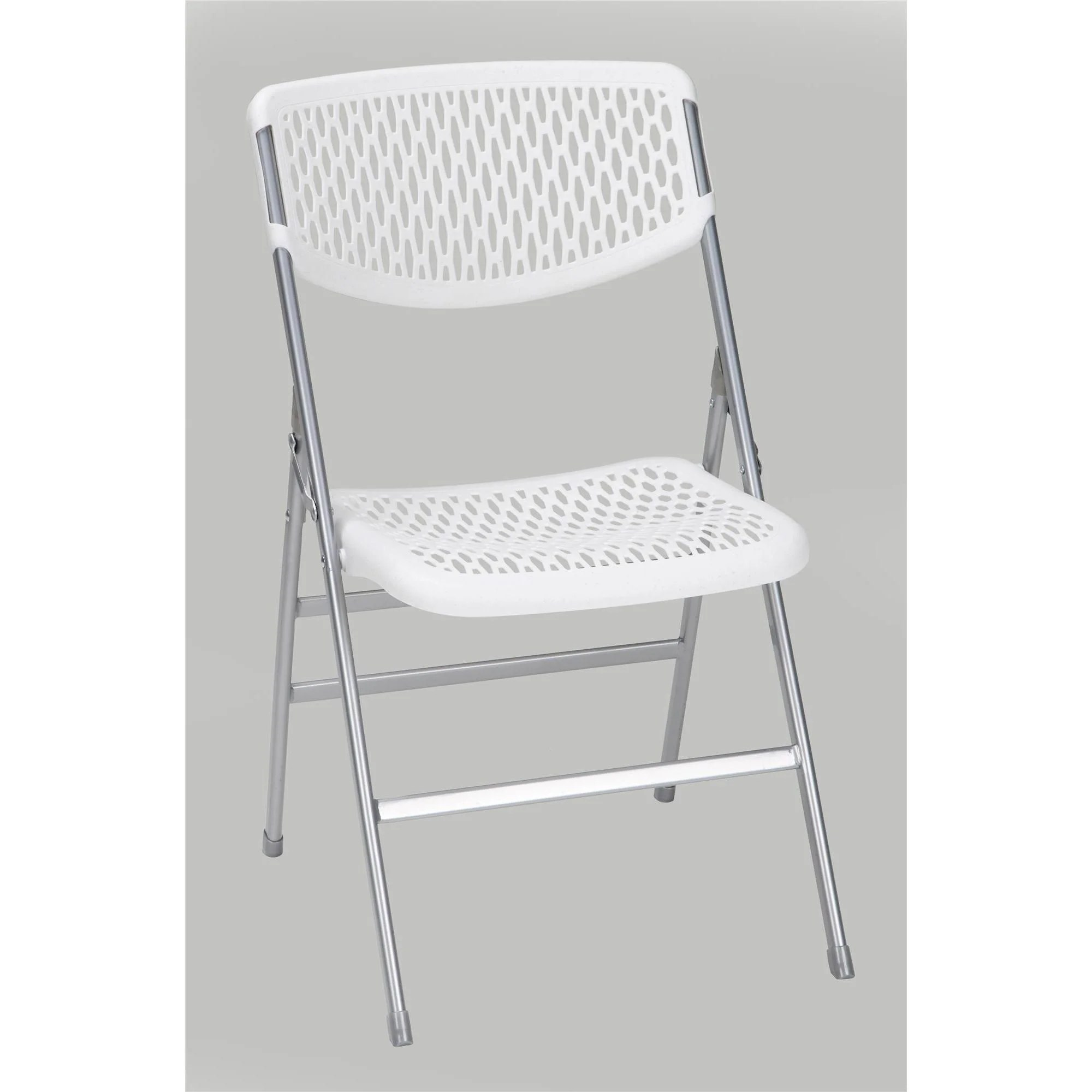 Cosco Folding Chair Cosco Commercial Resin Mesh Folding Chair Set Of 4