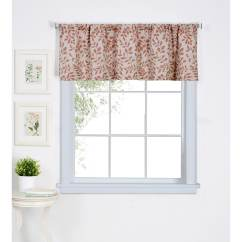 Kitchen Window Valance Aid Kettle Shop Elrene Serene 60 W X 15 L Free Shipping On Orders Over 45 Overstock Com 16914764
