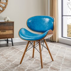 Teal Accent Chair Graco Blossom High Buy Baby Shop Corvus Madonna Mid Century On Sale Free