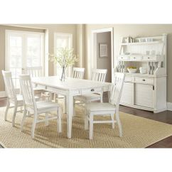 Antique White Dining Chairs Modern Counter Height Shop Cottonville Farmhouse Set With By Greyson Living