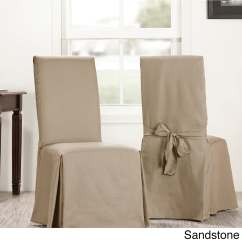 Chair Covers Cotton Oxo High Shop Exclusive Fabrics Solid Sold As Pair Free Shipping On Orders Over 45 Overstock Com 17754718