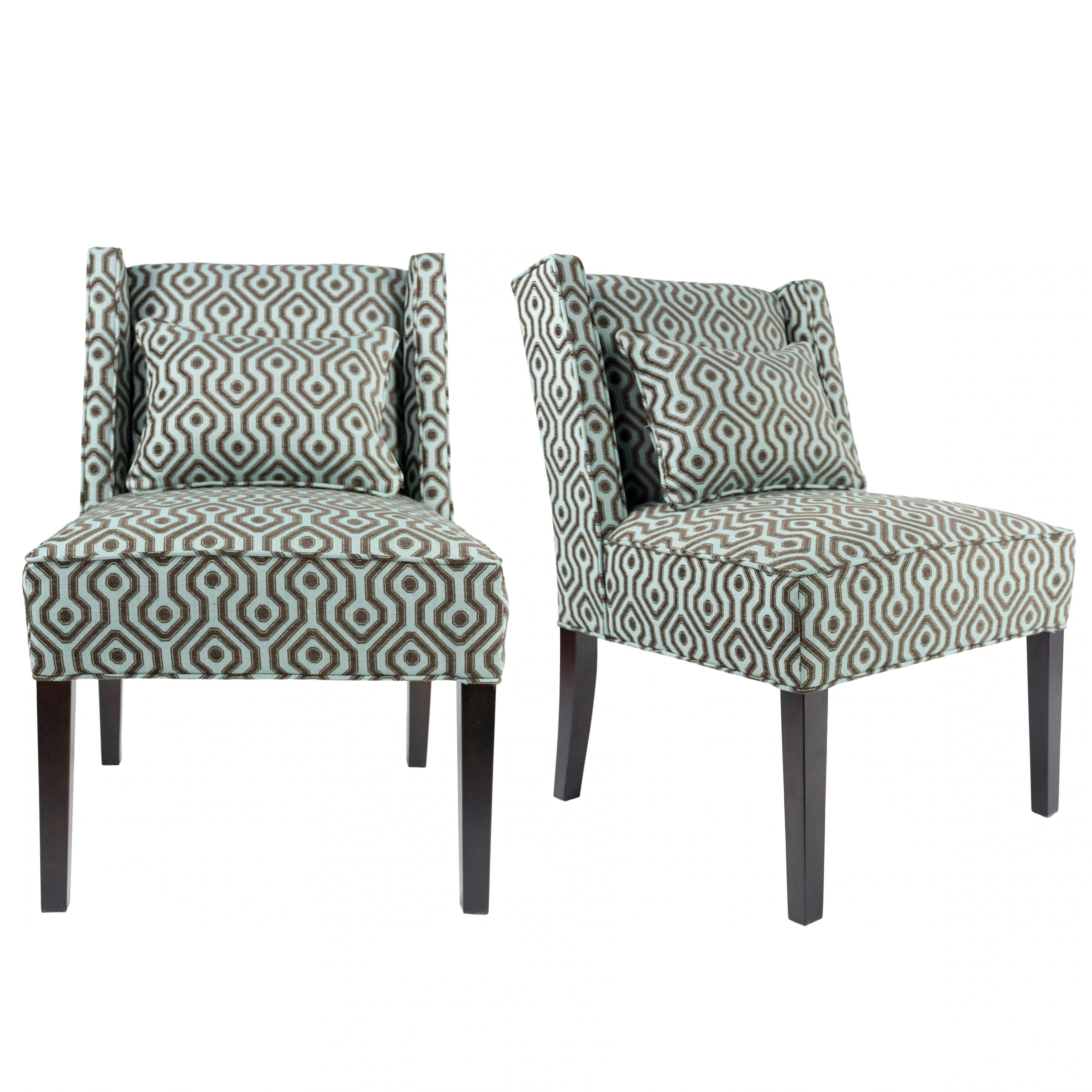 upholstered slipper chair la z boy executive office shop nolani modern fabric bistrole wingback