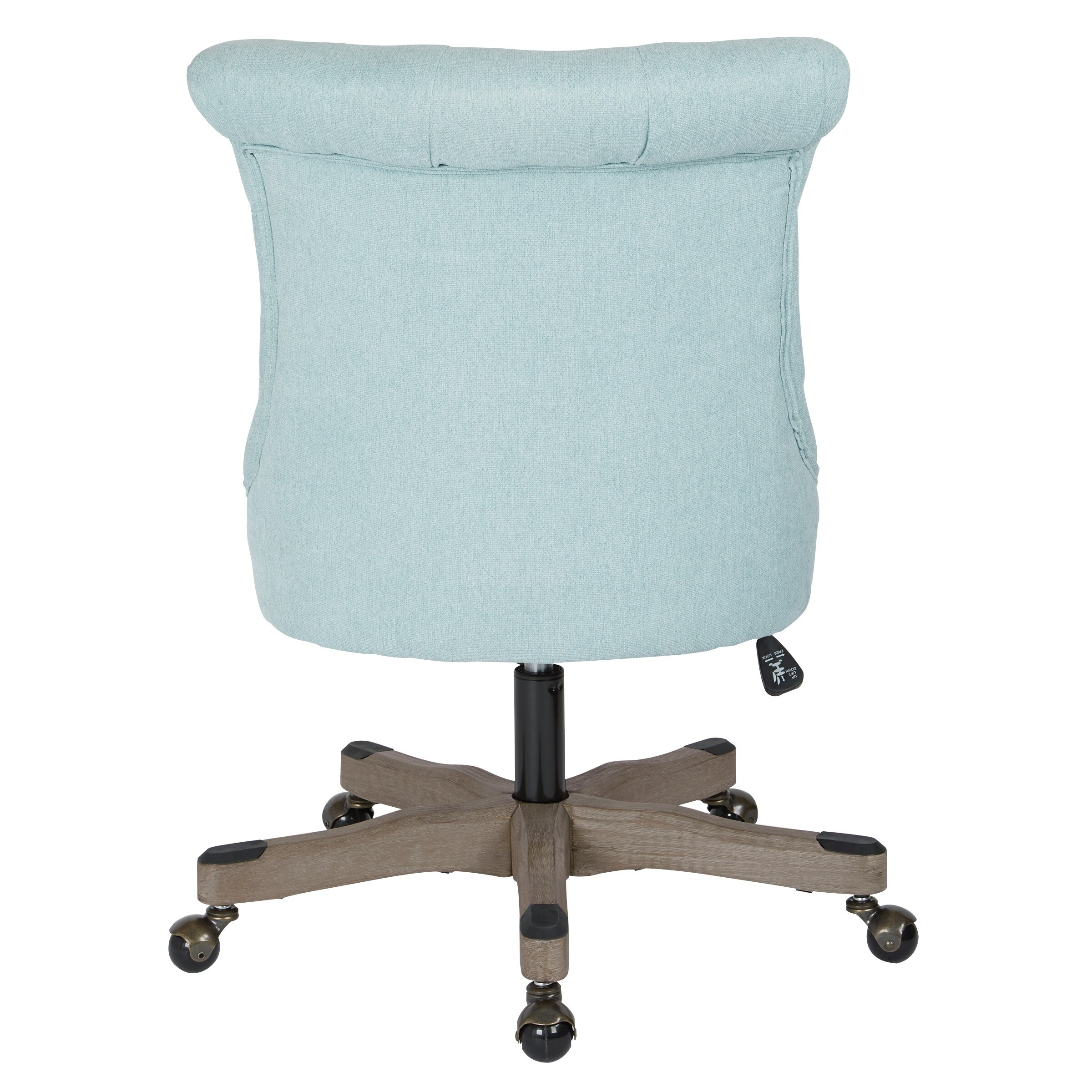 turquoise office chair reupholstery cost shop osp home furnishings hannah tufted free shipping today overstock com 17954288
