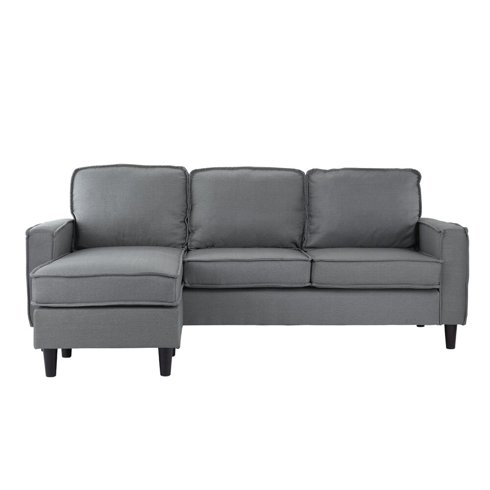 small es configurable sectional sofa black power recliner with headrest shop contemporary couch linen free shipping today overstock com 18092770