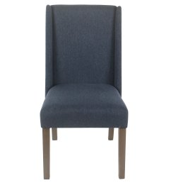 shop homepop dinah modern dining chair navy set of 2 on sale free shipping today overstock 18097023 [ 2953 x 2953 Pixel ]