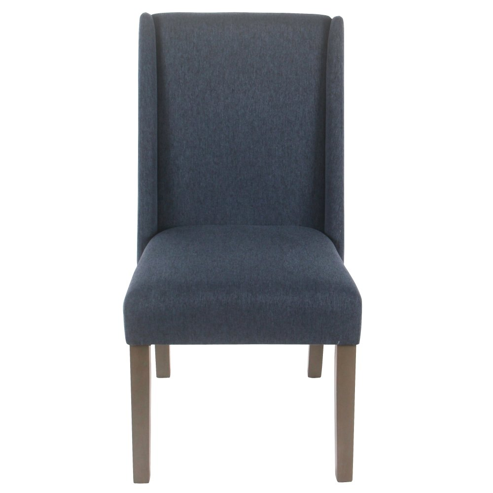 medium resolution of shop homepop dinah modern dining chair navy set of 2 on sale free shipping today overstock 18097023