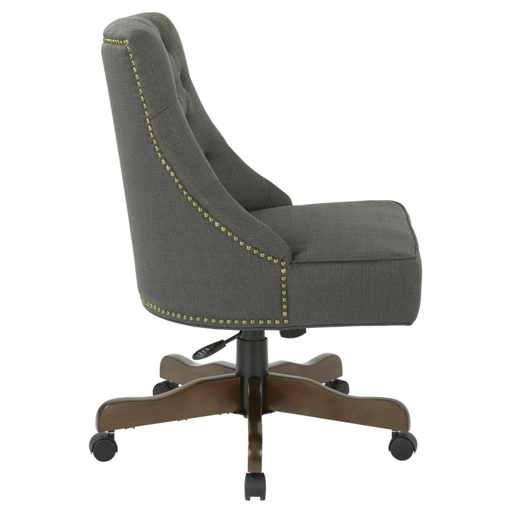 medium resolution of shop osp home furnishings rebecca tufted back fabric home office chair with nailheads free shipping today overstock 18221548