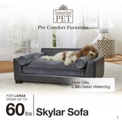 Enchanted Home Mackenzie Pet Sofa Hay Mags Preis Shop Skylar Free Shipping Today Overstock Com 18684070