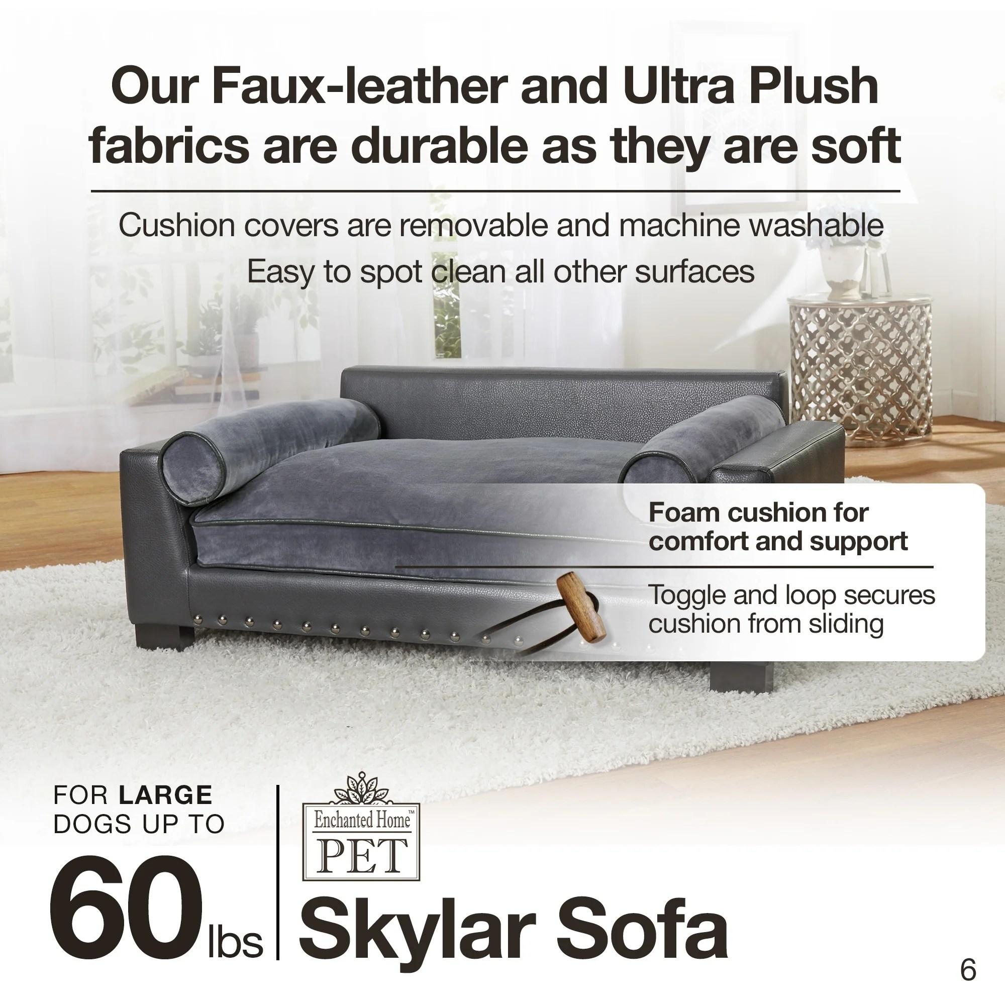 enchanted home mackenzie pet sofa bed contemporary uk shop skylar free shipping today overstock com 18684070