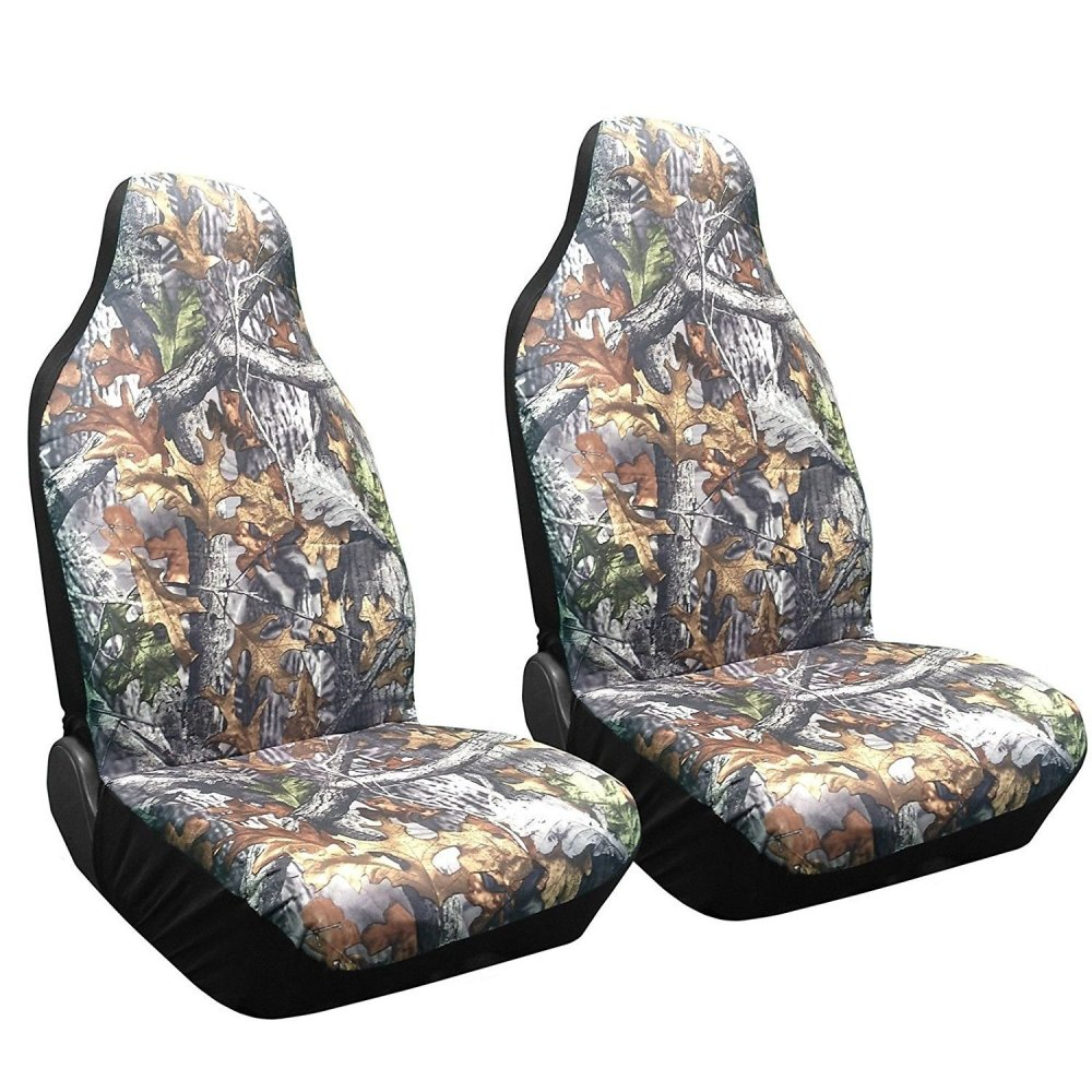 medium resolution of shop set of 2 camo forest front seat cover high back bucket camouflage saab on sale free shipping on orders over 45 overstock com 18695651