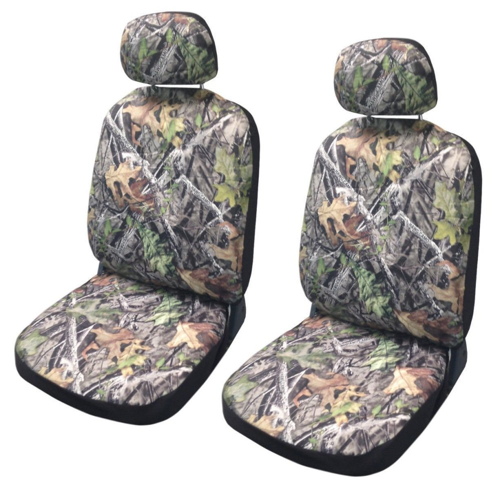 medium resolution of shop camo seat cover pair front row camouflage forest gray saab free shipping on orders over 45 overstock 18695667