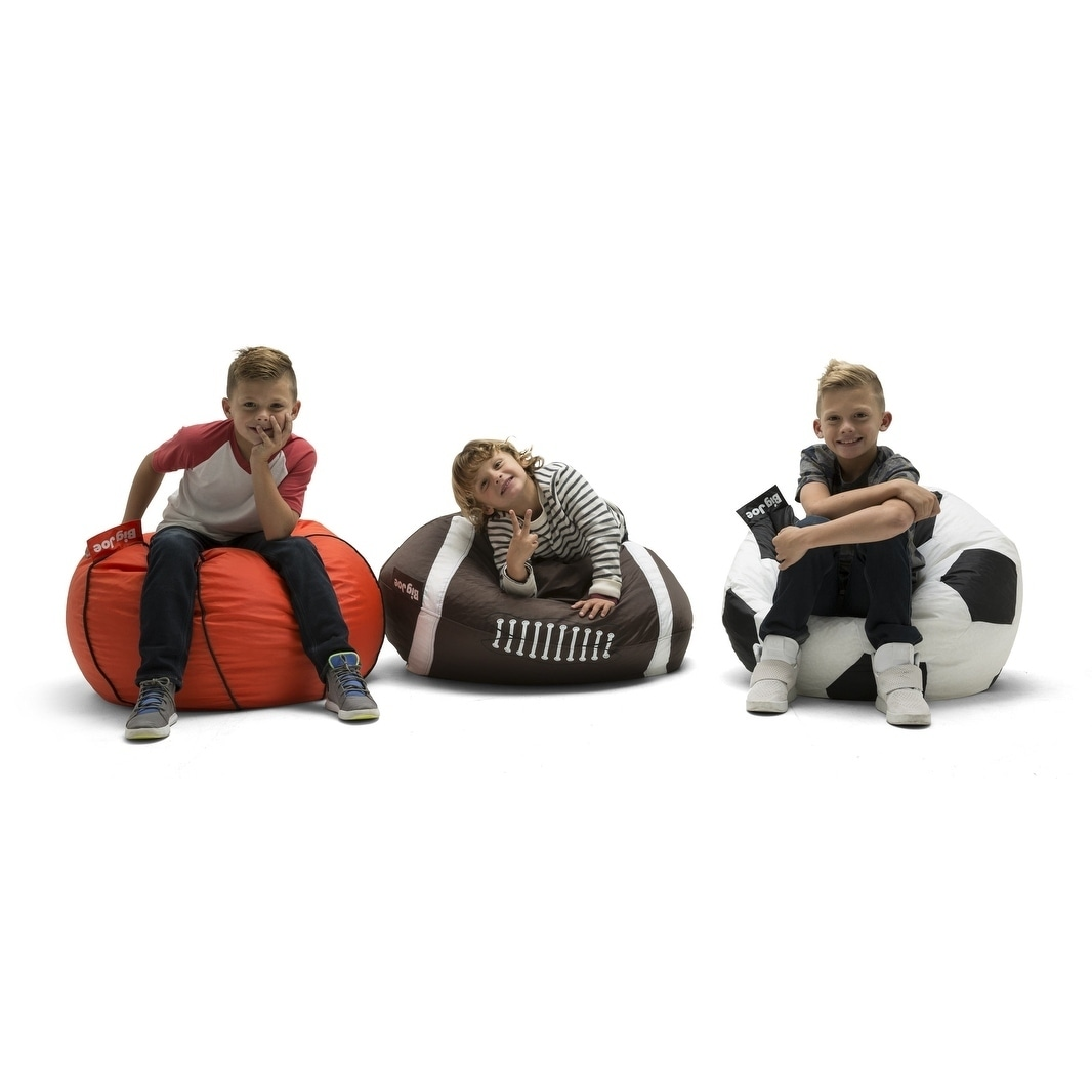 football bean bag chair ikea strandmon covers shop big joe free shipping today overstock com 18701377