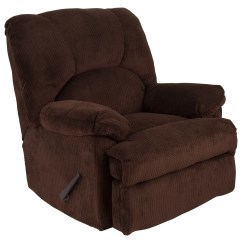 Ab Rocker Chair Covers For Tall Dining Chairs Shop Flash Furniture Brown Microfiber Recliner Free