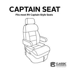 Rv Captain Chair Seat Covers Wooden Office Chairs On Wheels Shop Classic Accessories 80 112 012401 00 Overdrive Cover Free Shipping Today Overstock Com 19402315