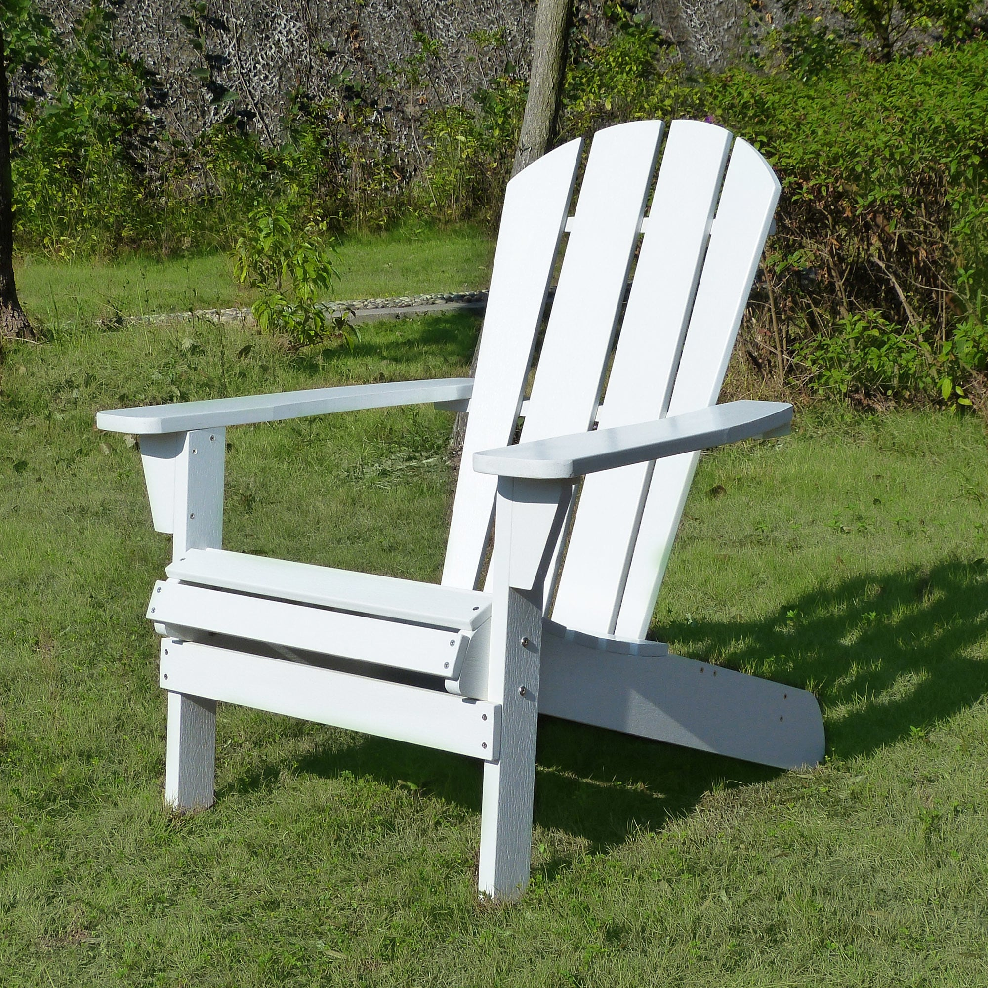 adirondack chair wood little kid table and set shop faux relaxed white free shipping today