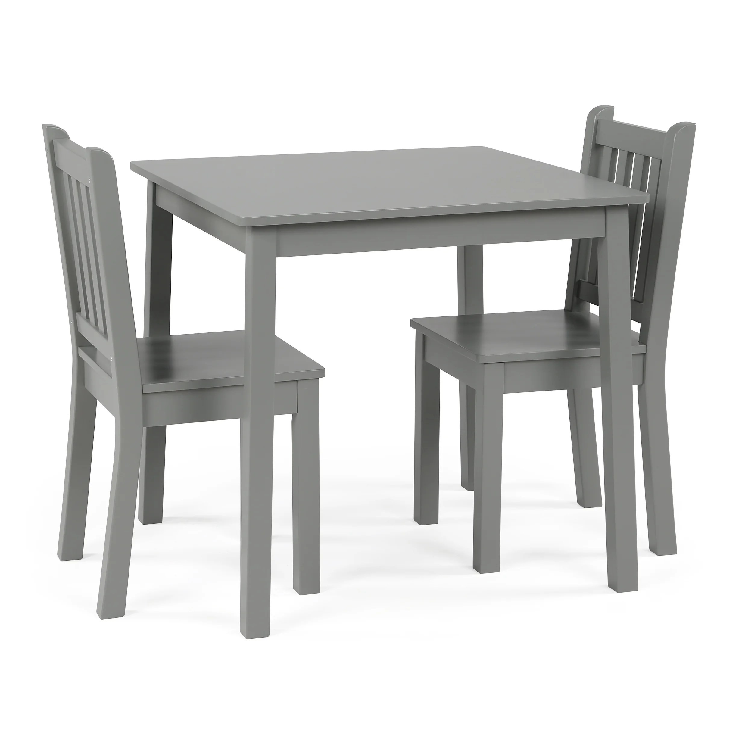 3 piece table and chair set best glider chairs shop wood kids grey free shipping