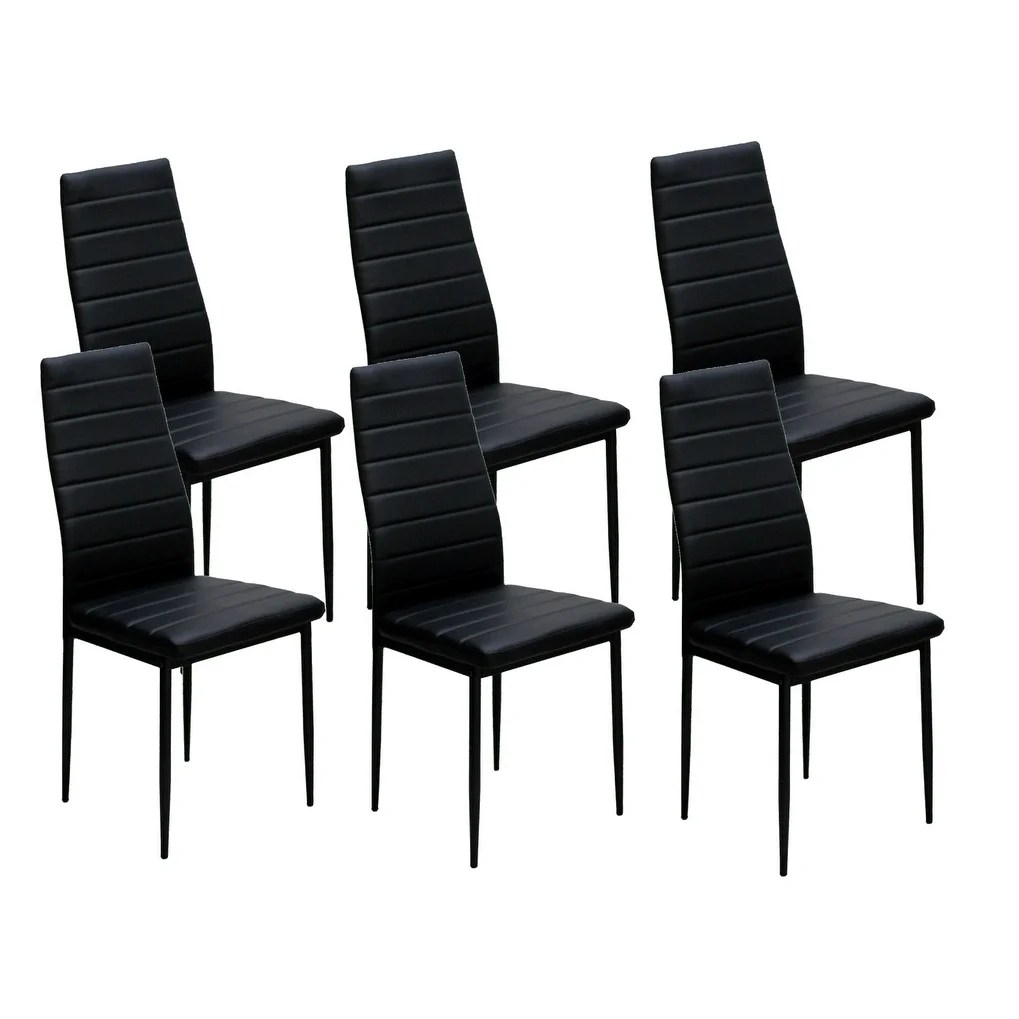 Dining Room Chairs Set Of 4 Ids Home Dining Chairs Set For 6 Dining Room Chairs With Cushion High Back Support 8 X 10