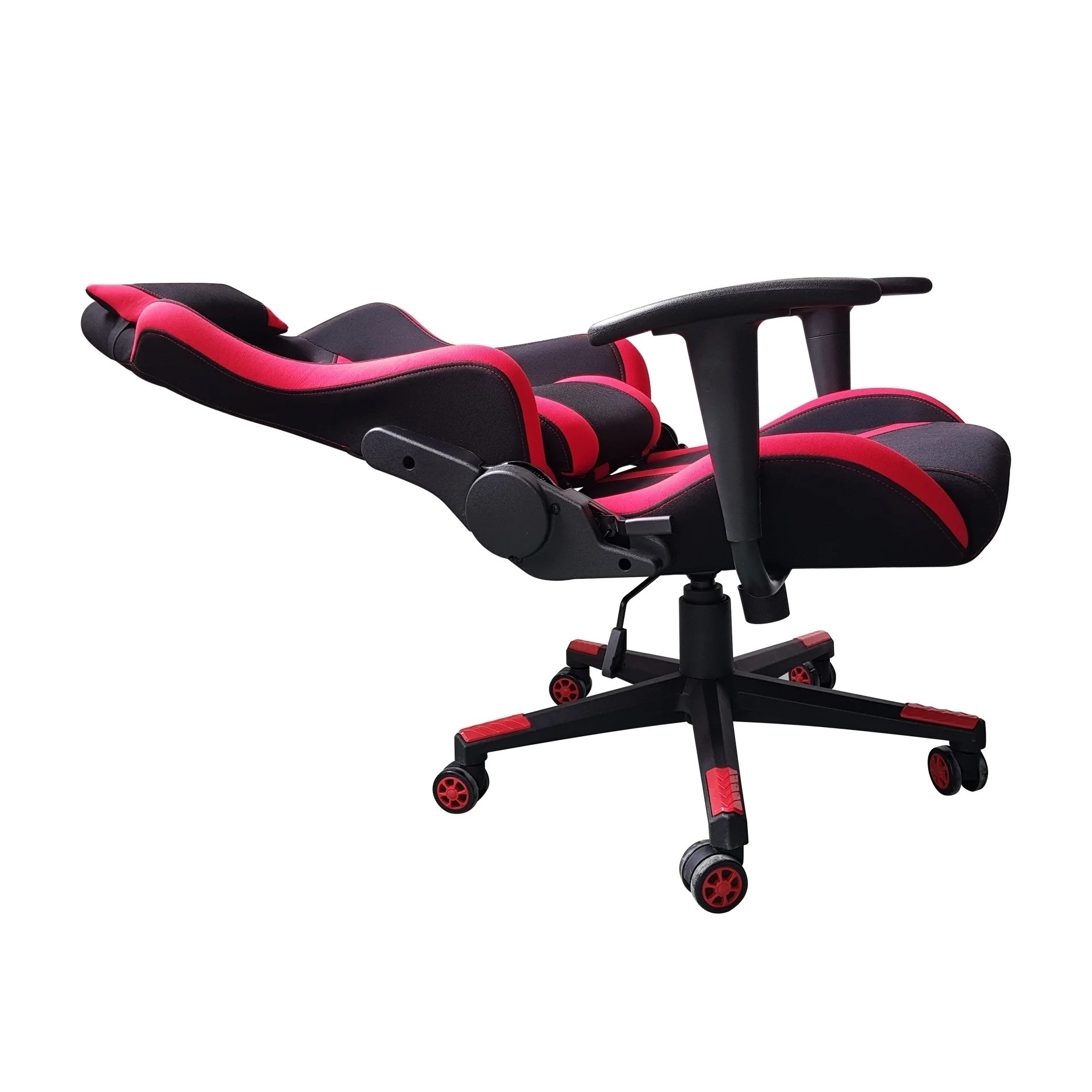 Video Chair Video Gaming Chair Executive Swivel Racing Style High Back Office Chair Lumbar Support Ergonomic With Headrest Red