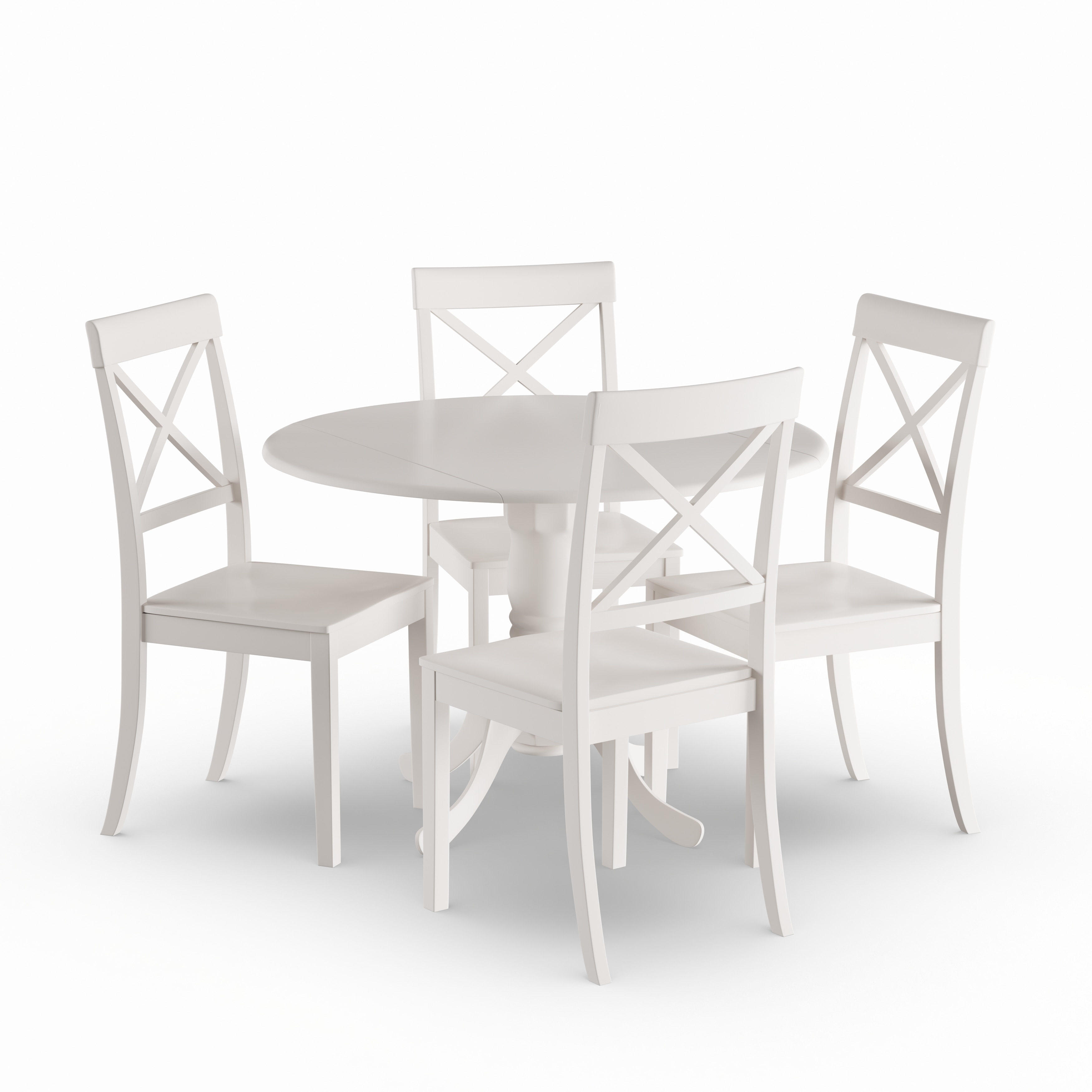 Black Dining Room Table And Chairs The Gray Barn Windy Poplars Linen White Small Table And 4 Dinette Chairs 5 Piece Dining Set