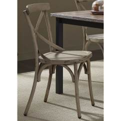 Gray Side Chair Rei Camp Shop The Barn Santa Rosa Distressed Metal X Back