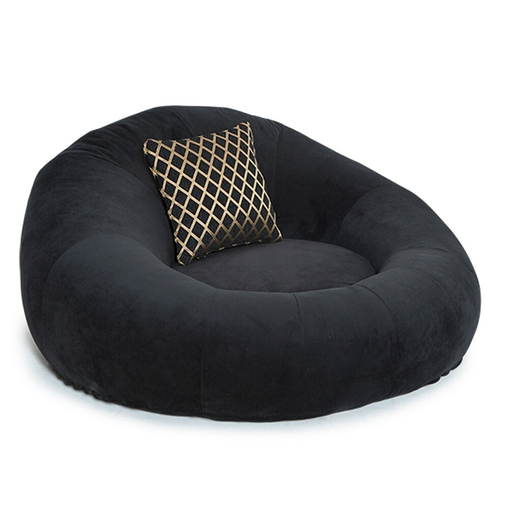 where to buy bean bag chairs air pump chair shop seatcraft bella fabric cuddle seat home theater foam