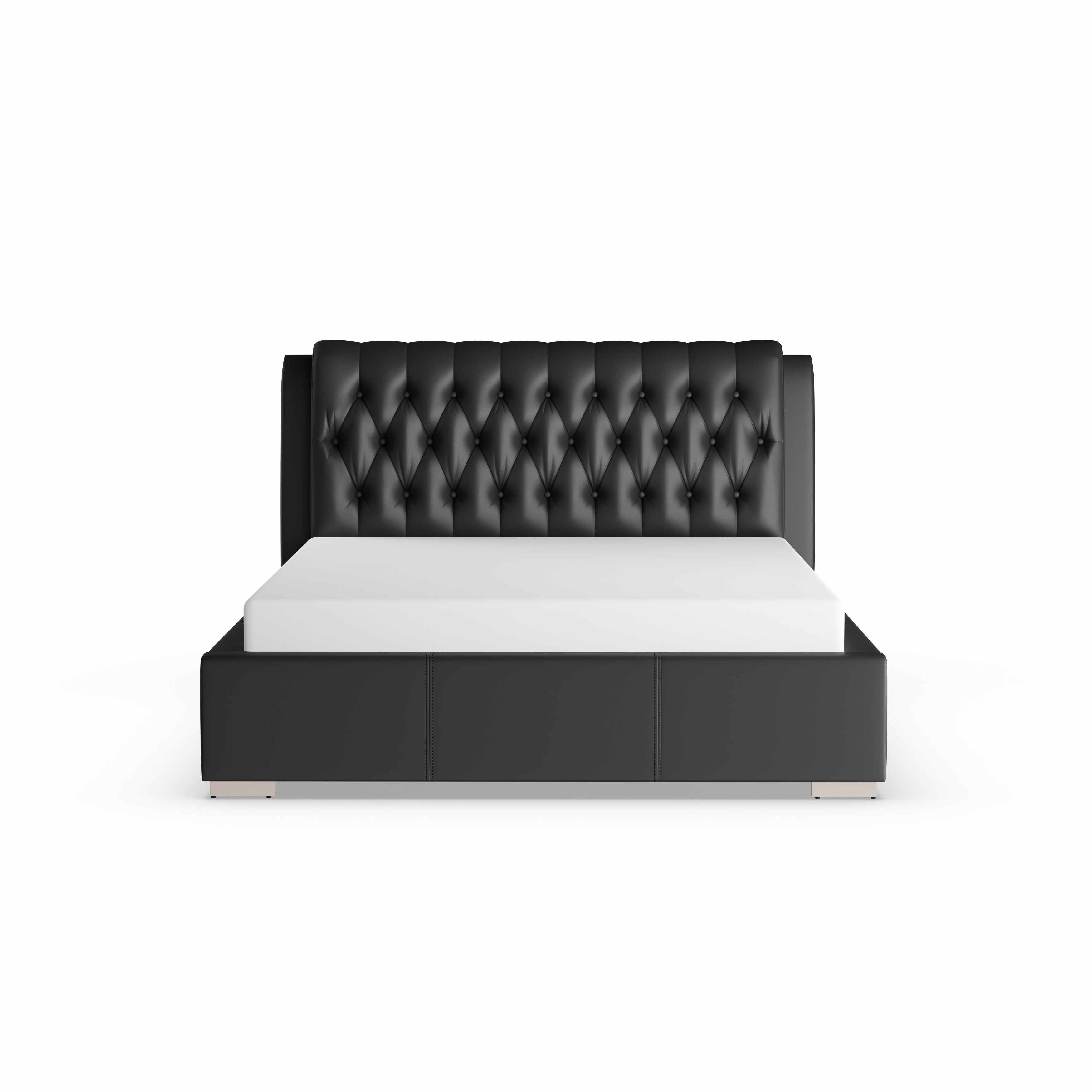 bianca futon sofa bed review barrister velvet shop black modern with tufted headboard queen size free shipping today overstock com 20543365
