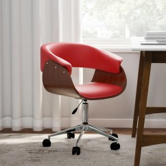 Office Chair Red Wooden Baby High Plans Shop Carson Carrington Herning On Sale Free Shipping Today Overstock Com 20543616