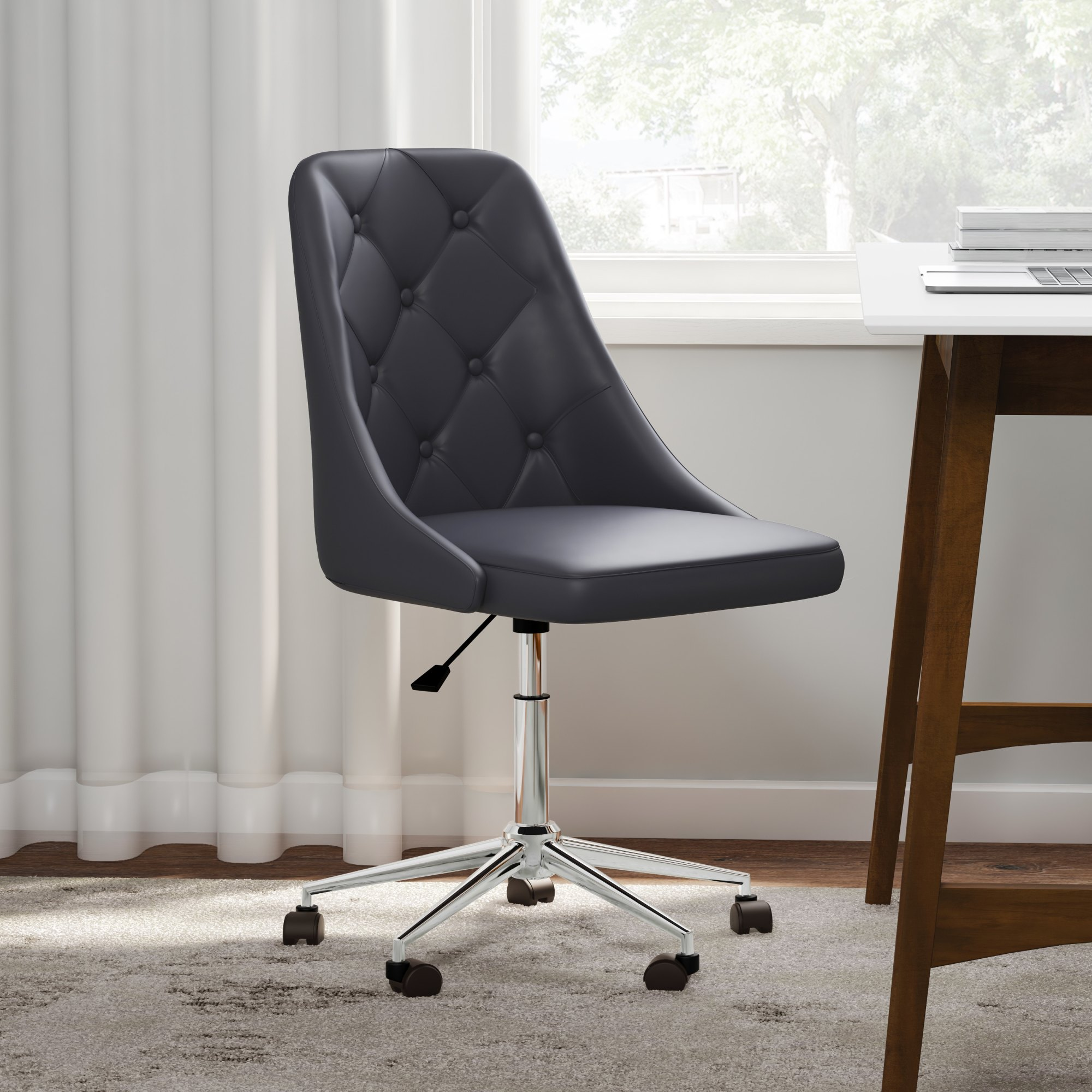 hight resolution of shop carson carrington ockelbo button tufted office chair with faux leather on sale ships to canada overstock 20543644