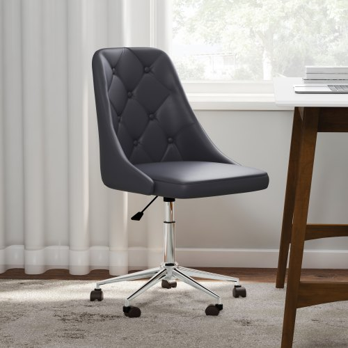 small resolution of shop carson carrington ockelbo button tufted office chair with faux leather on sale ships to canada overstock 20543644