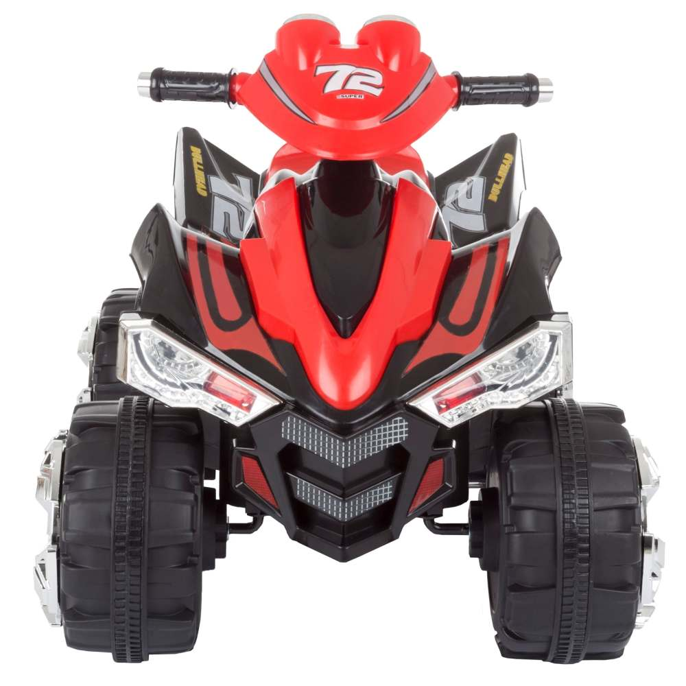 medium resolution of shop battery powered ride on toy atv four wheeler with sound effects by lil rider black red free shipping today overstock com 20710170