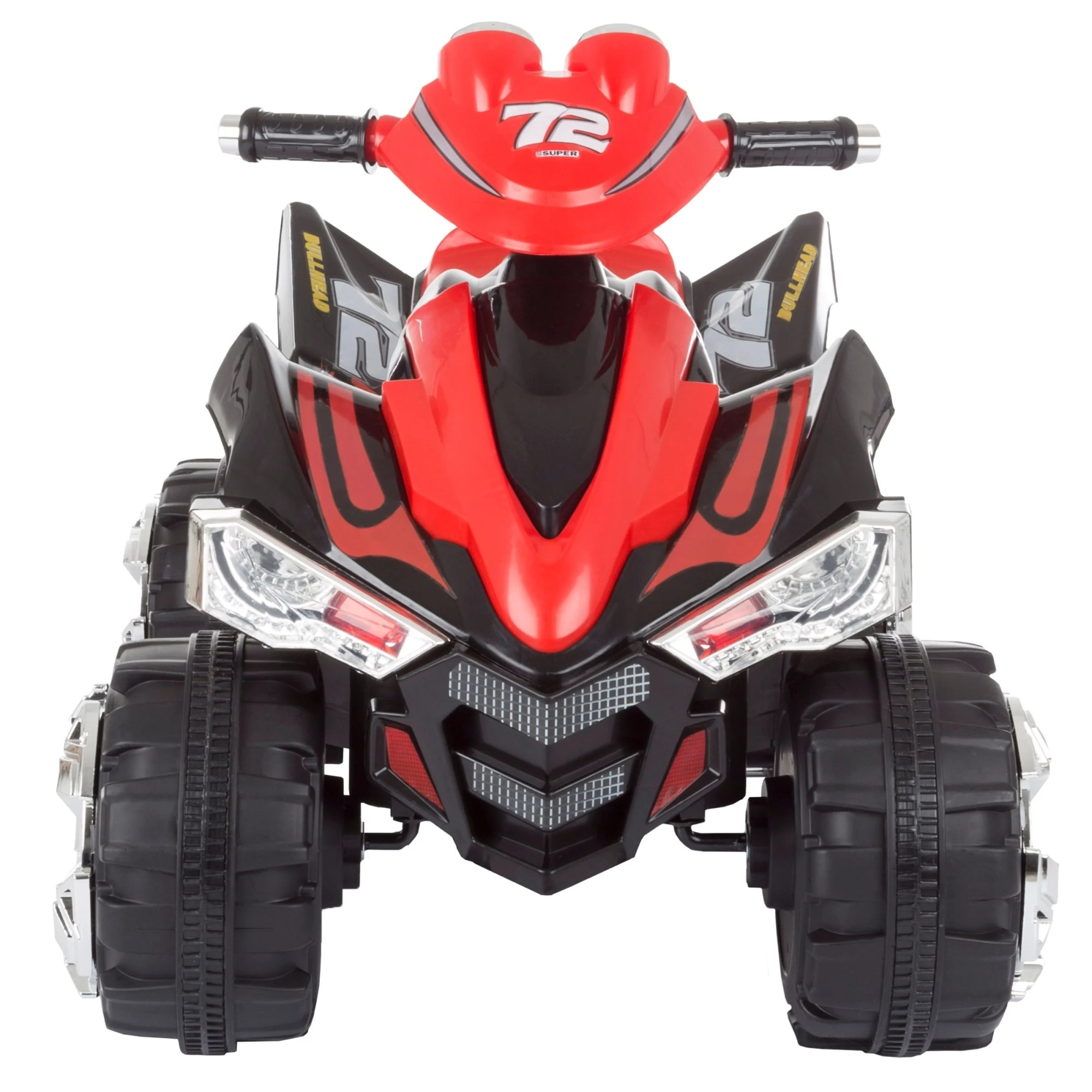 hight resolution of shop battery powered ride on toy atv four wheeler with sound effects by lil rider black red free shipping today overstock com 20710170