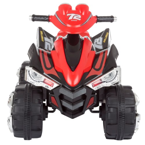 small resolution of shop battery powered ride on toy atv four wheeler with sound effects by lil rider black red free shipping today overstock com 20710170