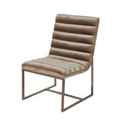 Steel Lounge Chair Cheap Saucer Shop Silk Road Channel Back Champagne Velvet Brass Plated Sled Base Free Shipping Today Overstock Com 20730891