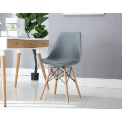 Danish Modern Dining Chair Bulk Buy Covers Uk Shop Porthos Home Midcentury With Cushion Easy Assembly