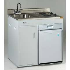 Compact Kitchen Sink Home Depot Lighting Shop 36 Complete With Refrigerator Free Shipping Today Overstock Com 20865245